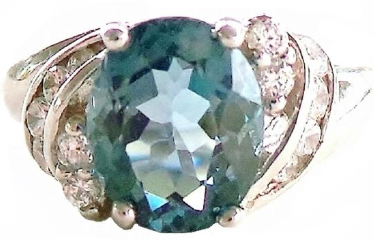 Other London Blue Topaz 925 Sterling Silver Ring 7