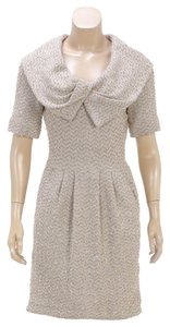 St. John short dress Beige on Tradesy