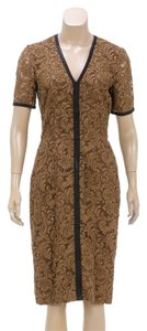 Brown Maxi Dress by Burberry