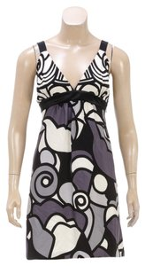 Tibi short dress Black Multicolor on Tradesy