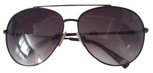 Michael Kors Michael Kors Navy Blue Aviator Sunglasses