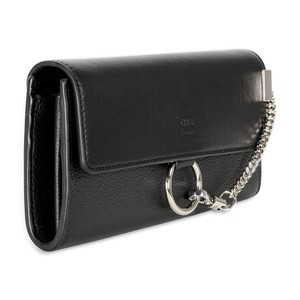 Chloé Chloe Faye Leather Wallet - Black