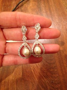 Pearl Drop Wedding/formal Earrings