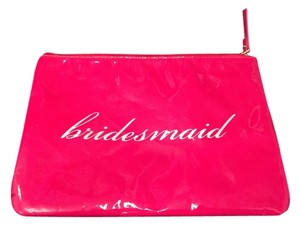 Kate Spade Bridesmaid Makeup Travel Pink Clutch