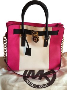 Michael Kors Tote in Pink/Black/ White