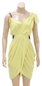 Rachel Roy short dress Yellow on Tradesy