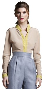Wes Gordon Silk Top Nude