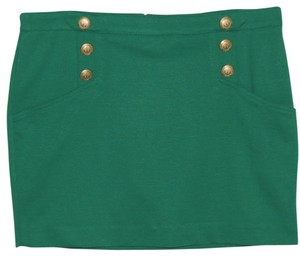 Rampage Mini Skirt Green