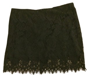 BB Dakota Lace Mini Skirt Black