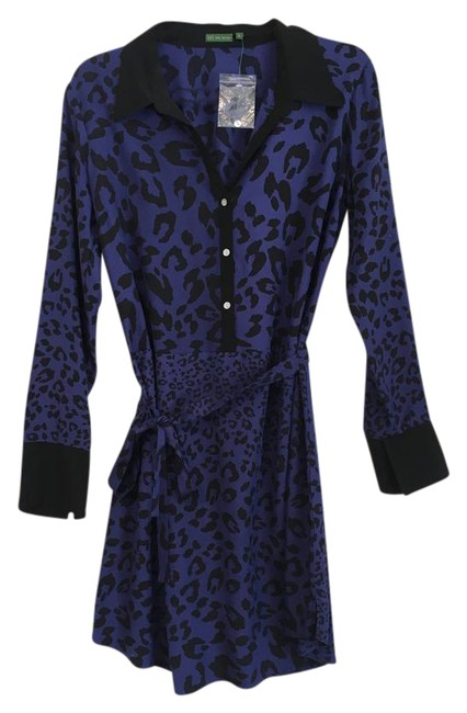 Preload https://item3.tradesy.com/images/the-letter-navy-purple-ish-silk-cheetah-print-shirtdress-mid-length-short-casual-dress-size-12-l-754802-0-2.jpg?width=400&height=650