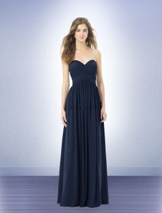 Bill Levkoff Navy 386 Dress