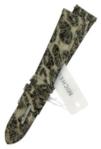 Michele MICHELE 16mm Brown Cheetah Leather Watch Band MS16AA350211
