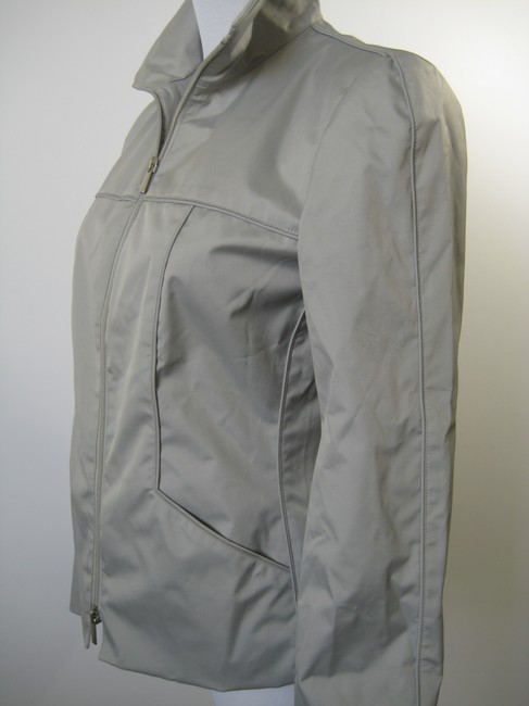 Giorgio Armani Light Silver Gray Jacket