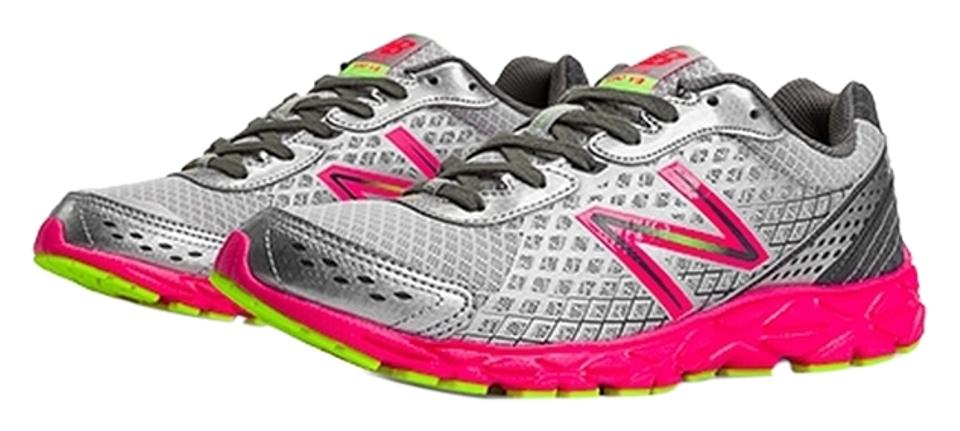 0b73a419a32 New Balance Style  W590gp3 Neon Stylish Running High Performance Marathon  Chic Gray with Hot Pink ...