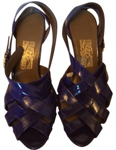 Salvatore Ferragamo Purple Sandals