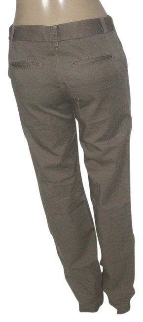 Item - Green Cotton Olive Chino Tall Pants Size 4 (S, 27)