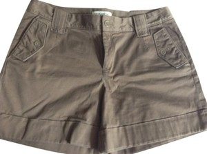 Banana Republic Cuffed Shorts Brown