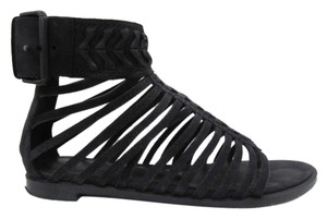 Haider Ackermann Black Sandals