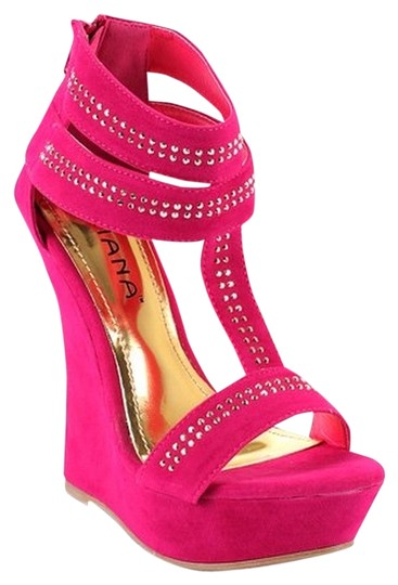 Preload https://item4.tradesy.com/images/fuchsia-wedges-size-us-75-755328-0-0.jpg?width=440&height=440