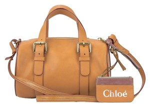 Chloé Duffle Satchel in Gazelle