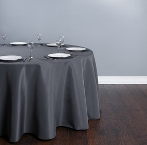 Charcoal Gray Lot Of 10 120in *shipping Included* Tablecloth