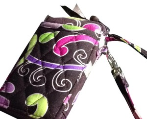 Vera Bradley Purple punch Cell Phone/wallet Wristlet