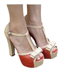 Fashionette Style Boutique Orange Sandals