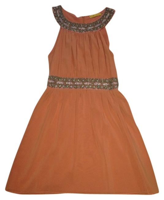 Preload https://item3.tradesy.com/images/alice-olivia-dress-orange-beaded-756222-0-0.jpg?width=400&height=650