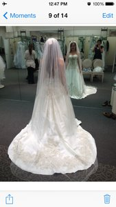 Oleg Cassini Mikado Ballgown Wedding Dress