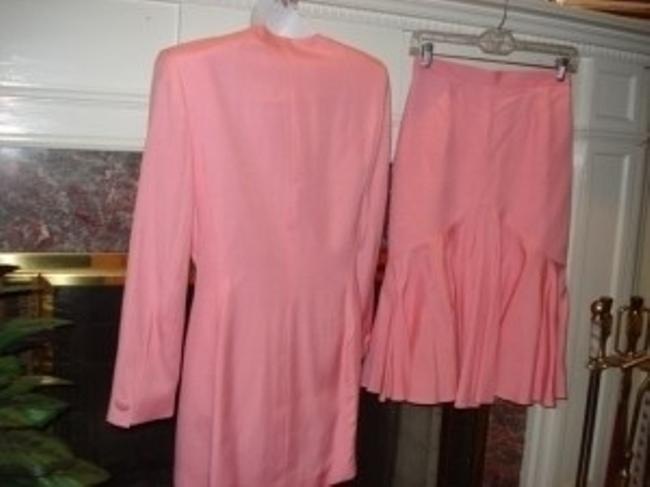 Dior Christian Dior 6 NewSkirt Suit Coral Pink Gorgeou