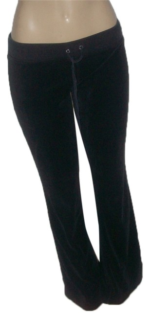 Item - Black Pre Owned Blend Veour M Pants Size 8 (M, 29, 30)