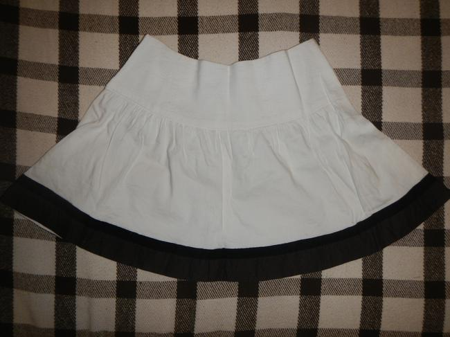 bebe Summer Mini Skirt White