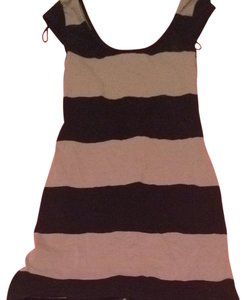 Divided by H&M short dress Black/tan on Tradesy