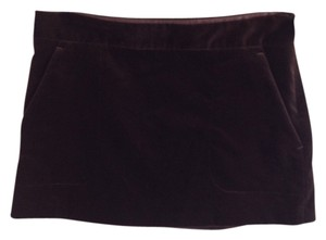 Theory Mini Velvet Skirt