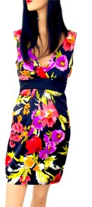 Forever 21 Evening Date Exotic Tropical Dress