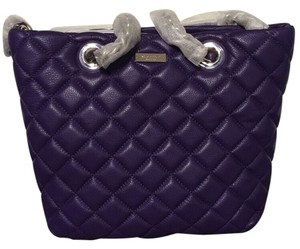 Kate Spade Gold Coast Quilted Leather Gold Hardware Classic Shoulder Bag
