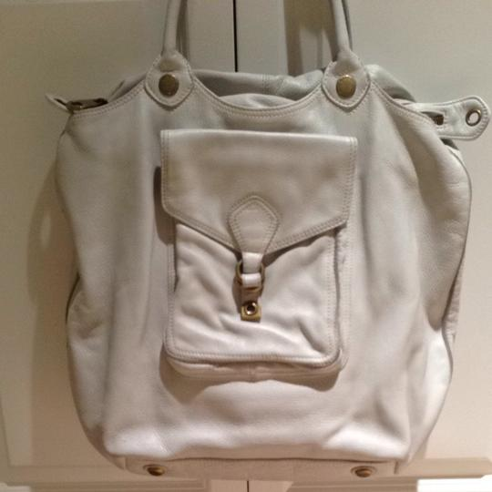 Marc by Marc Jacobs Leather Mj Oversized Shoulder Bag