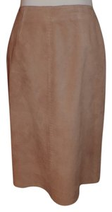Isda & Co. Suede Western Skirt Tan