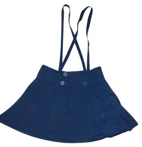 Lux Topshop Mini Skirt blue