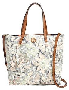 Tory Burch Crosbody Tote in Dahlia Combo