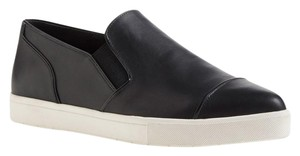 Vince Leather Sneaker Black Black Leather Athletic