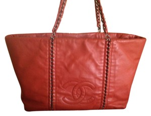 Chanel Tote in Salmon