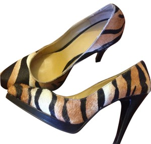 Nine West Tager gold brown/black Pumps