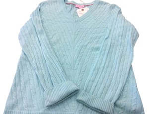 Lilly Pulitzer Cable Knit Cashmere Longsleeve Sweater