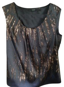 Tahari Top multi-brown