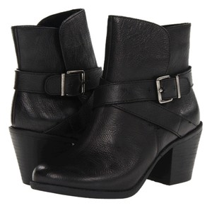 BCBGeneration Leather Moto Black Boots