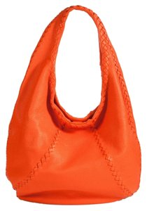 Bottega Veneta Orange Hobo Bag