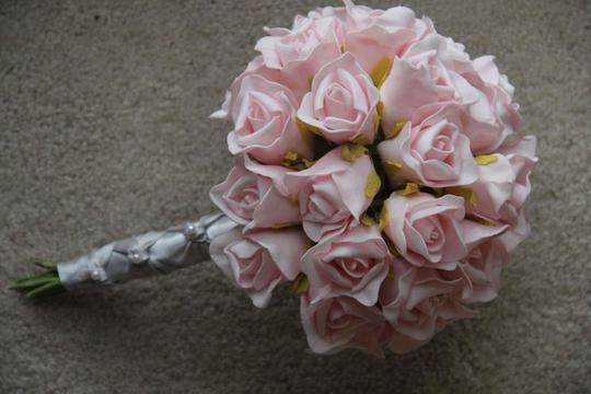 Pink Tea Rose Bouquet