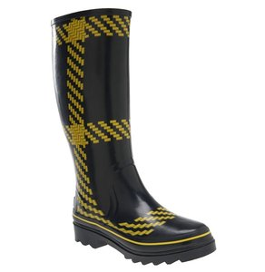 Kate Spade Black & Yellow Boots