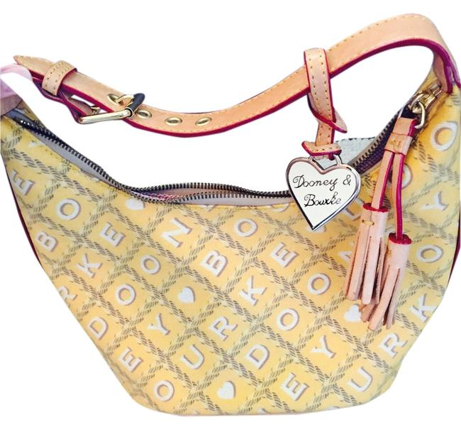 Dooney & Bourke Bag And Yellow Leather Tote Dooney & Bourke Bag And Yellow Leather Tote Image 1